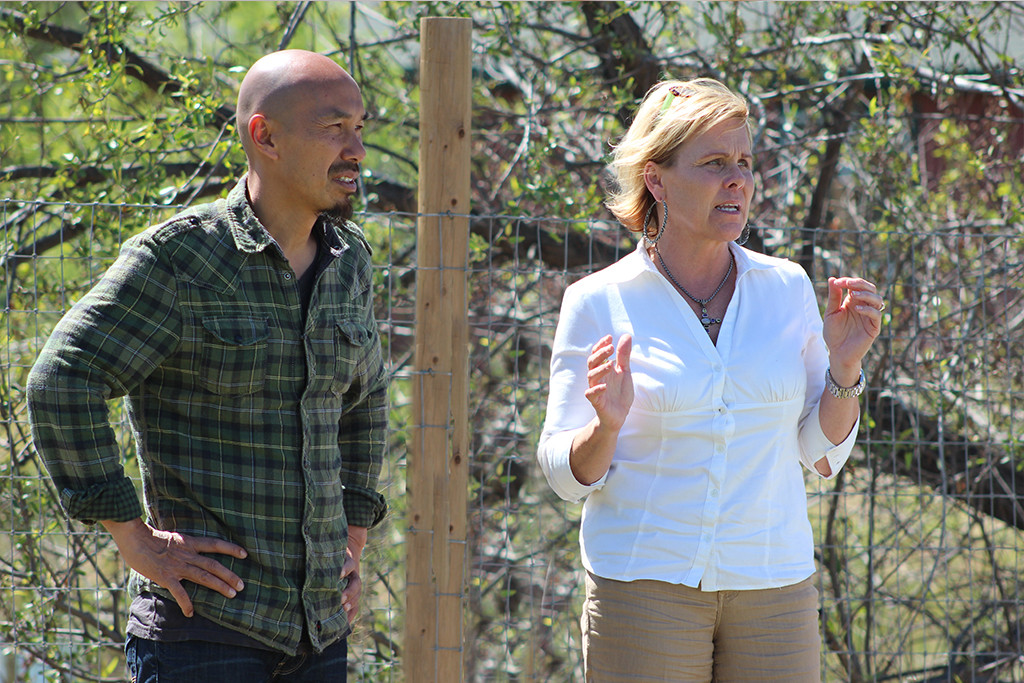 Francis Chan and Jenny