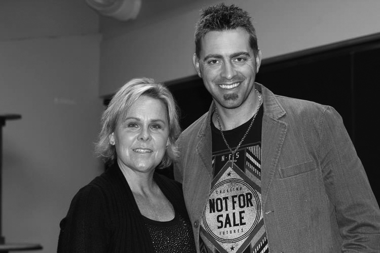 Jenny and SF Giants World Series Pitcher, Jeremy Affeldt