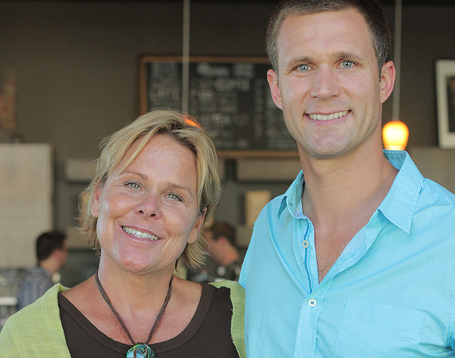 Jenny Williamson with Nick Elcock