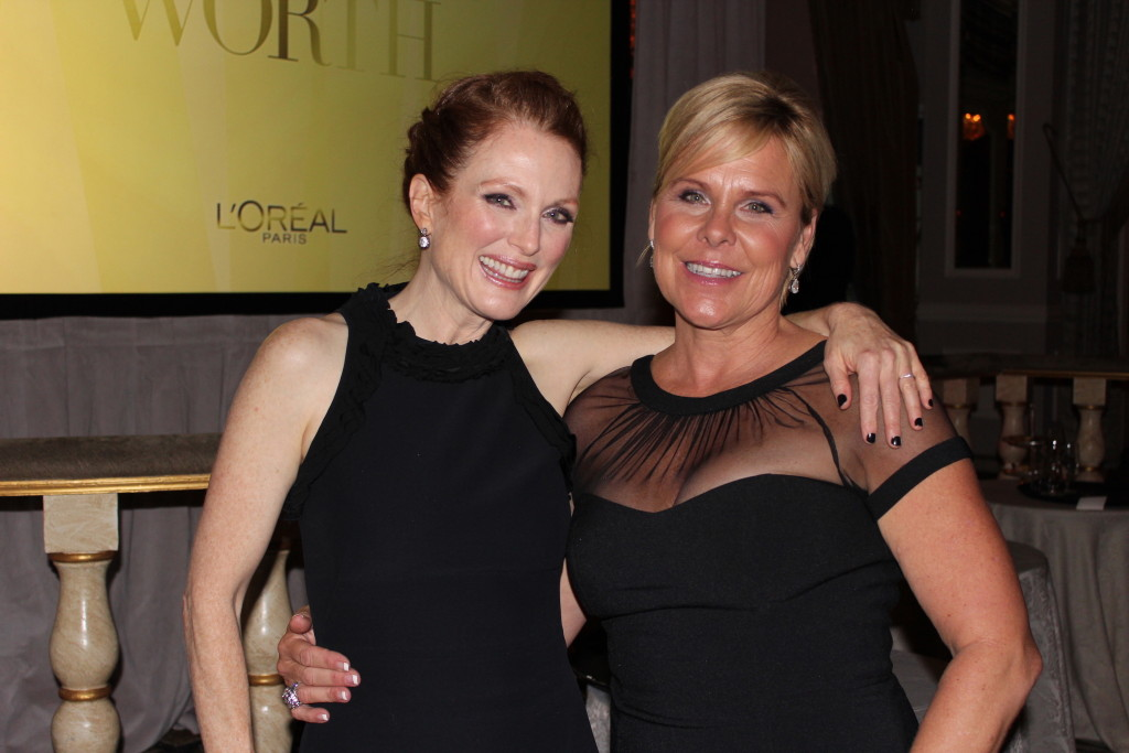 Julianne Moore with Jenny