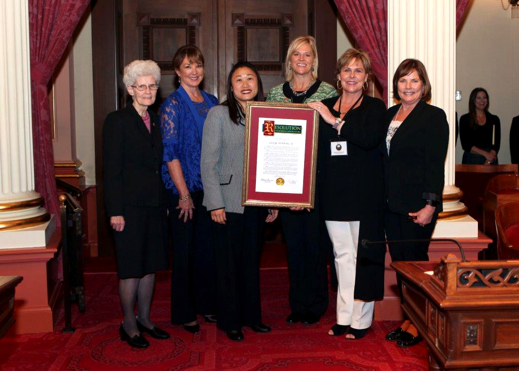 California Senate honored CWW Founder and the organization for their work with victims of trafficking.