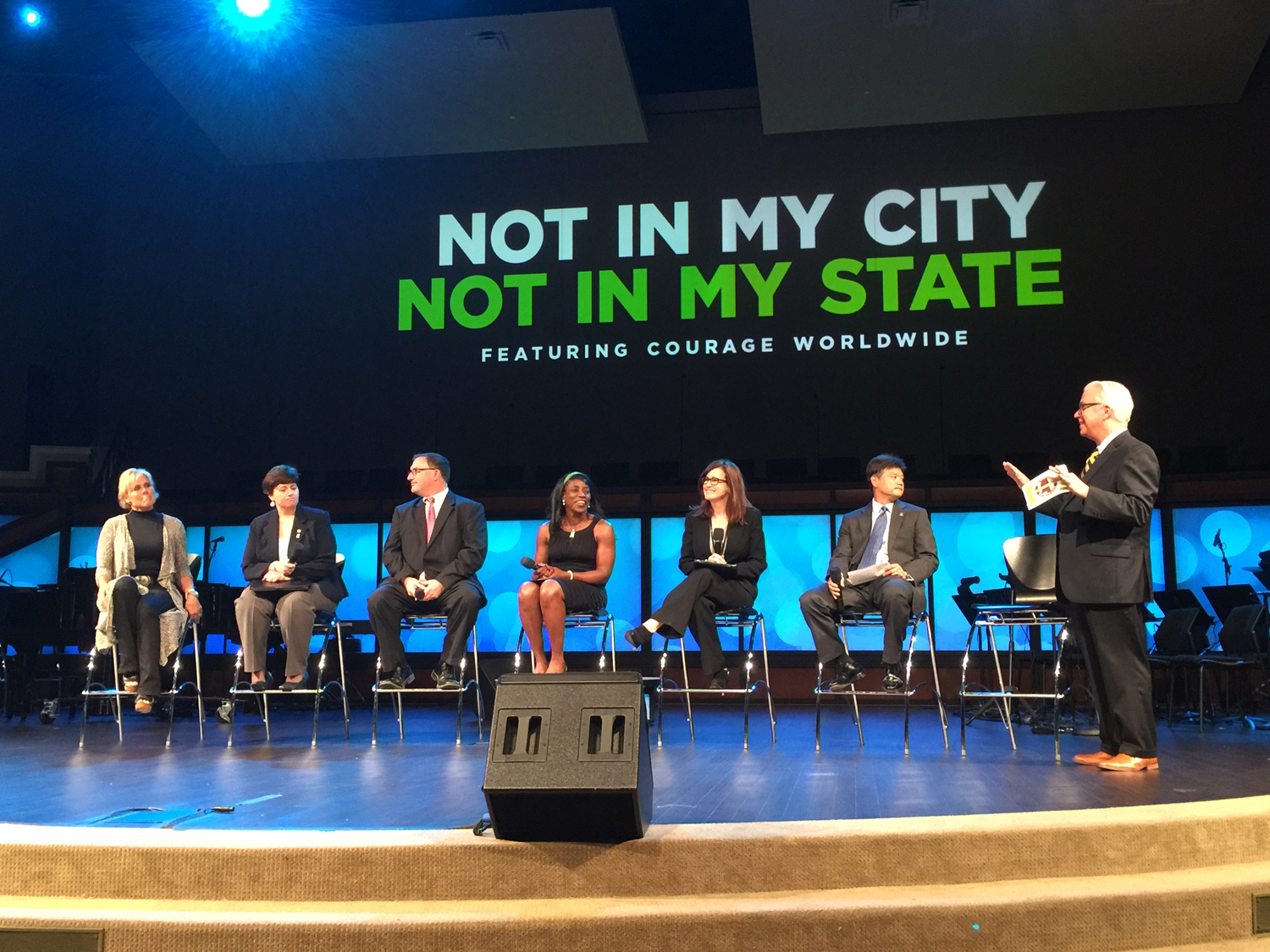 Expert panel at #NotInMyCity